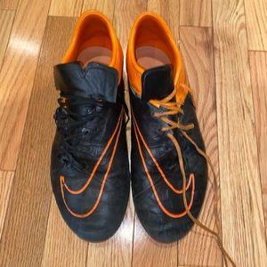 Nike hypervenoms leather